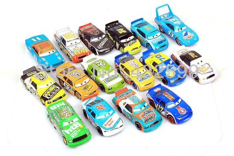 Pixar Cars Toys Trunk Fresh Car Racing Diecast Pixar Cars