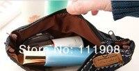 джинсовые шорты ручка мешок для студент возмущаться косметический сумка для леди как компактный вещи pods для хранения