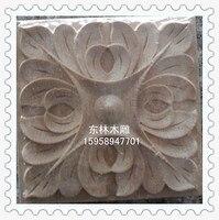 китай донгянг резьба по угол цветок Derby приложение площадь цветок мебель дверь приложение е - 0041