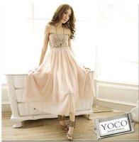 бесплатная доставка с плечевая женская платье / красивая леди печать платье # 6022