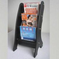 kingfom кожа портативный журнал стойки смотрела киоске журнал Dental для автомобиль аксессуар черный a049