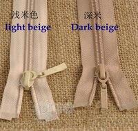 15 шт. санли бренда нейлон 5 # 70 см длинная верхняя одежда вниз пальто молния рюкзак молния обнажениях leugth
