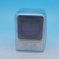 бесплатная доставка подарок на rods мини портативный динамический md07 музыка ангел ТФ карта для МР3 плеер с ФМ радио оптовая продажа