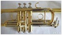 бесплатная доставка 100% чистый тембр музыка латунь сделал высокое значение с ключевым lavcquer трубе