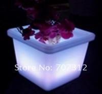 бесплатная доставка, из светодиодов цветочный горшок