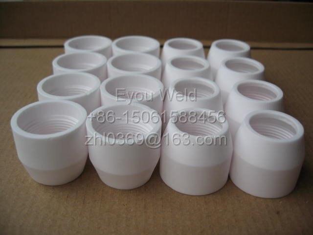 10 pcs P80 Taça Shield, Consumíveis de Corte Plasma (P-80)