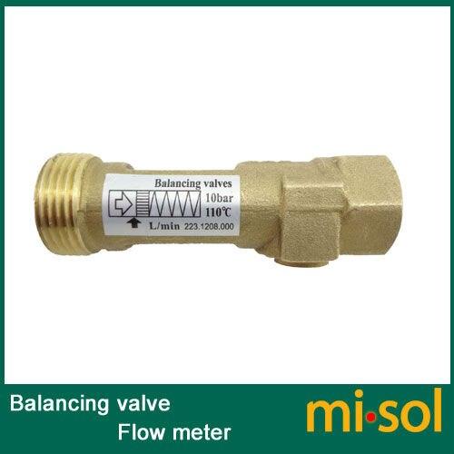 Balancing-valve--Flow-meter-2