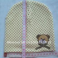 младенцы шляпа / шляпа медведь / детская кепка / мальчики и девочки headress / череп кепка / шапочка шляпы