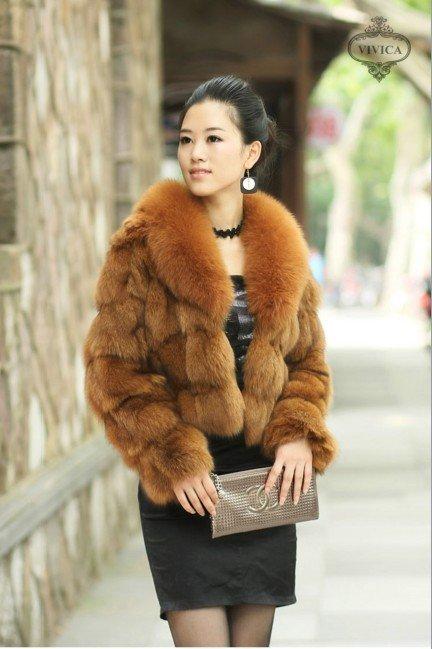 Aliexpress.com : Buy New Fashion Short Style Fox Fur Jacket Fox ...
