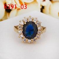 18 к позолоченные кольцо мода оригинальные австрийские кристаллы италина кольцо, никель противоаллергические заводские цены опд взу
