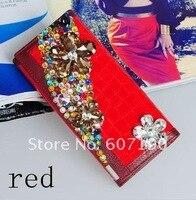 фр zp2000c дизайнер кристалл кожа + полиуретан бумажник, кристалл кожа портмоне