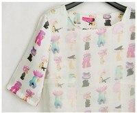 новые высокое качество литий Европа стиль конструктор мода бренд платья женщин взлетно-Посада полосы печать шифоновый veto платье