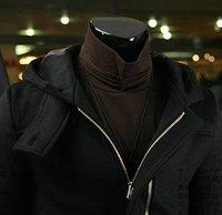 мужская мода мужская осень 2010 с Заголовок с пла большой карман дизайн / Wet в длинный участок мужчины фра