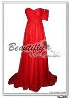beautifly бесплатная доставка знаменитости красный шифон длиной до пола, пром вечерние платья выпускные платья платья jh116