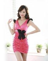новый женская тонкий мода сексуальное вечернее женское платье одежда д-98-88