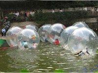 чтобы привести мода тенденция тпу мяч-прогулки по воде мяч-в тпу 0.8 мм се с воздуходувка tizip
