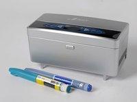 диабет joyikey медицинской холодильник поставляется с 16.5 ч. ведущих литиевая батарея