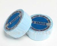 1 шт. бесплатная доставка ленты белый двусторонняя голубой ленты для волос 1.9 см * 2.75 м