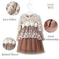 оформление! в девочка кружево платье принцессы дети цветов ну вечеринку платья одежда младенцы дети одежда бесплатная доставка