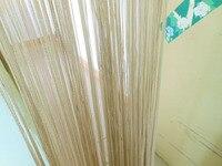 tangpan 1*2 м бахрома окно делитель кисточкой висячие строка занавес двери-бледно-коричневый