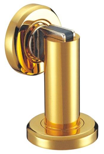 1 PC Of Door Hardware Zinc Alloy Door Stops Gold Plated Powerful Magnetic Door  Stoppers, Built In Wall/Floor Mounted Doorstop In Door Stops From Home ...