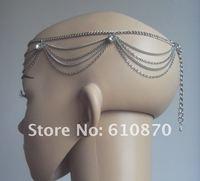 греческий европа цепь повязка на голову головной аксессуары для волос ювелирные изделия с кристалл