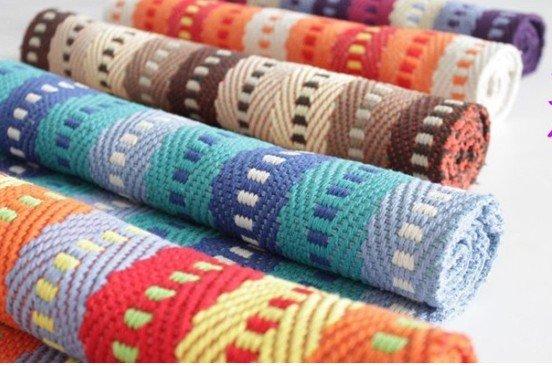 Charmant Multi Colored Bath Rugs