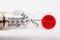 qqa0712 водонепроницаемый-закладки бусины 60 функция вибрируя и вращение адррес qqa клитор массажер вибратор женщины секс игрушки для взрослых игрушки