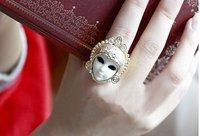 мода новое постулат горячая распродажа милый египет кукла Twin стиль кольцо r114