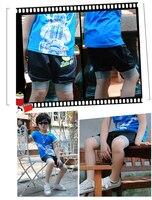 новое прибытие! дети slay упругие ноги половина брюки с лоскутное для маленьких мальчиков брюки, бесплатная доставка a3117