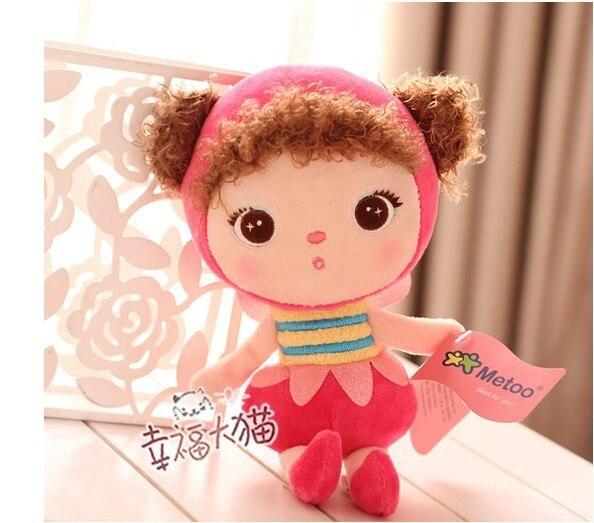 New 8pcs Lot Metoo Plush Toy Dolls For Girls 9 Baby Stuffed Animals