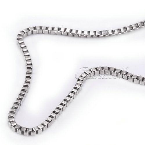 высокое качество индивидуальные 2 мм мужские мальчики кэп ожерелье из нержавеющей стали ожерелье оптовая продажа ювелирных изделий 16 - 30 дюймов kn43