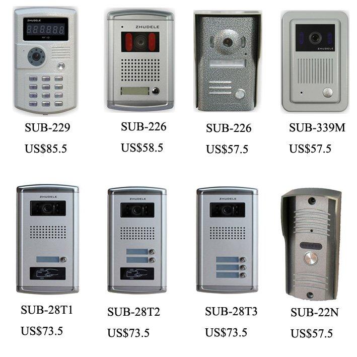 8-wohnungen Audio Intercom Xinsilu Neue Heißer Verkauf Power Linie Intercom Audio Tür Telefon Mit Direkten Rufen Sie Tasten Unterstützung Id Karte Zu Entsperren