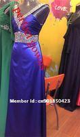 бесплатная доставка 100% гарантия реальные фото бисероплетение уплотнения в шеи болт на заказ красивый вечернее платье - идеальный платья