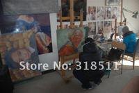 горячая распродажа морден пейзаж картина маслом на холсте мастихином краска числа холст ткань картина маслом