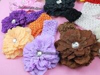 цветок захват для младенцы девочек одежда / кепка / волос или повязка на голову, 11, 5 см пион красивый дизайн