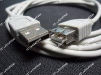 5 футов USB 2.0 вилочная часть в женское расширение кабель АМ м ф