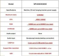 клиент высокое качество тонкий с микрофон 3 разъема USB разъём поддержка окна 7 и широкий экран 1440 * 900