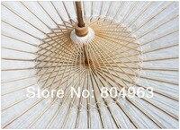 китай conucian ] 2 шт. / лот красный или белый / китайский традиция смазанный бумага зонтик / белый зонтики