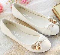 cj54 оптовая продажа бесплатная доставка низкая цена размер 34 - 44 $ 5 от за 50 $ кожаный верх обуви леди свободного покроя туфли милые женщины лодка туфли