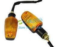 2 шт. мотоциклов / световой индикатор универсальный желтый свет для всех мотоциклы бесплатная доставка tk0167