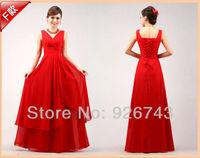 милый совок декольте рукавов плиссированные шифон сирень и красный платья для подружек невесты