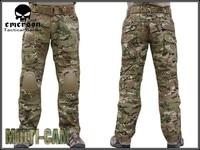 эмерсон тактический бду gen2 в боевой брюки эмерсон бду армия брюки с наколенники мультикам em6992