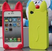 разные цвета кот 3.5 дюймов / 4 дюймов смартфон кремний чехол для айфона 5 и 4S / 4