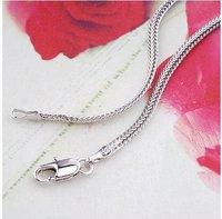 jewrlry женщины / мужчины 18 к золото заполнено достоинство цепь ожерелье ювелирные изделия ювелирные цепь ожерелье подарок ювелирные изделия