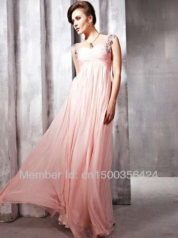 Платье на выпускной в пол шифон
