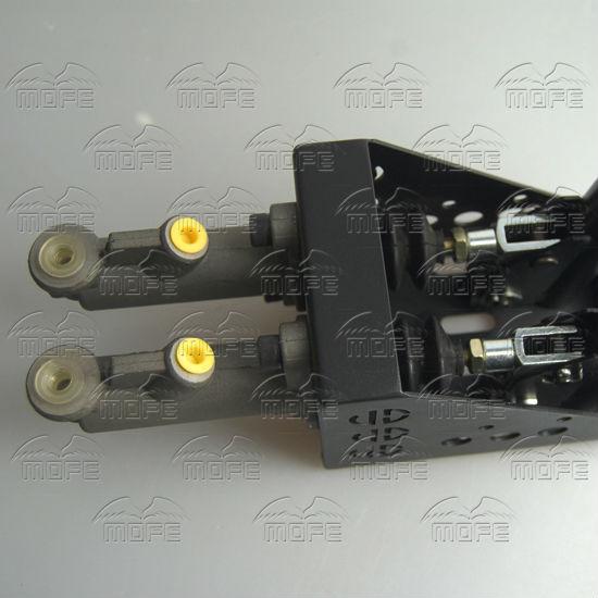 0.75 inch Dual Twin Double Master Cylinders Handles Lockable Vertical Drift Rally Handbrake Hand Brake Hydraulic E-brake DSC_0831