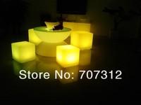 освещение Bar сток, светящийся Chi сладкий кофе верховой стол, свадьба украшения, ночной клуб 66 * 66 * 22 см