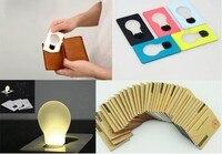 бесплатная доставка 20 шт./лот мини из светодиодов кредитная карта свет, cerative карточка-фонарик, карманные свтеодиодный фонарик для продвижения
