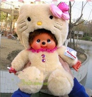 плюшевые куклы плюшевые игрушки белый кролик monchhichi украшения дома бесплатная доставка